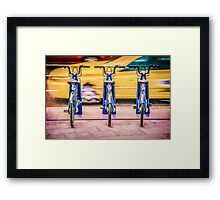 Time Travel - Economy Class Framed Print
