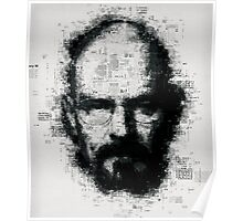 Walter White Newspaper - Breaking Bad  Poster