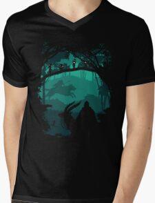 Princess Mononoke - Princess Of Forest Mens V-Neck T-Shirt