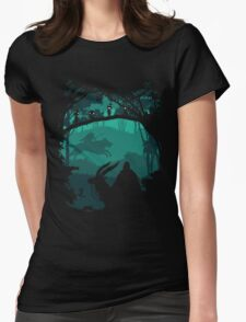 Princess Mononoke - Princess Of Forest Womens Fitted T-Shirt