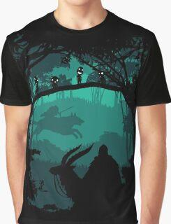 Princess Mononoke - Princess Of Forest Graphic T-Shirt