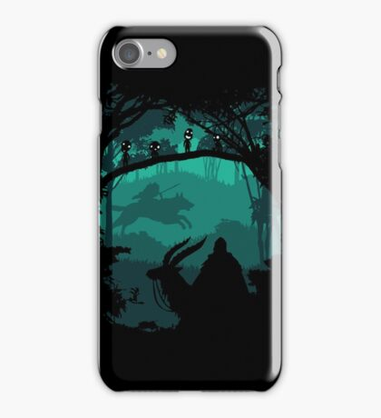The Chief Leader and Princess Of Forest iPhone Case/Skin
