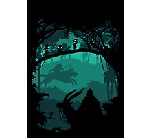 Princess Mononoke - Princess Of Forest Photographic Print