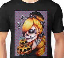 Halloween Pumpkin Background Unisex T-Shirt