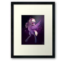 Punk/Rock pony Framed Print
