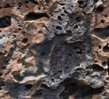 Lanzarote Volcanic Rock in Cave Sticker