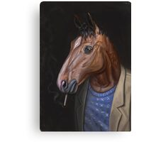 Somber Horse Canvas Print