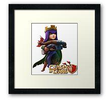 Archer Queen Framed Print