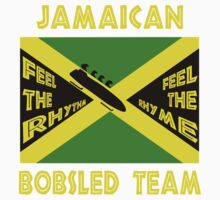 Jamaican Bobsled Team One Piece - Short Sleeve