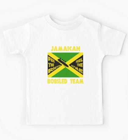 Jamaican Bobsled Team Kids Tee