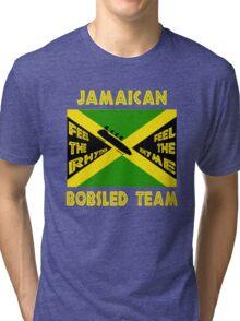 Jamaican Bobsled Team Tri-blend T-Shirt