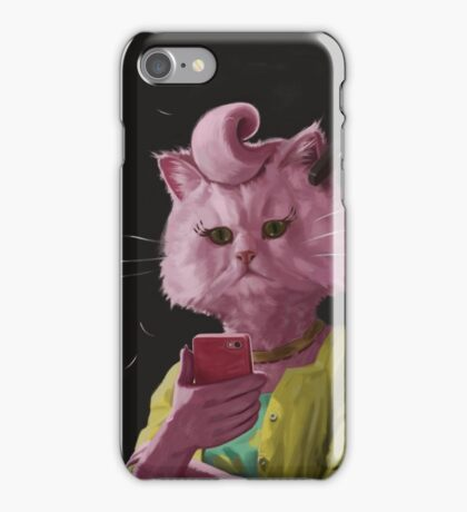 Dedicated Cat iPhone Case/Skin