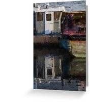 New Bedford Waterfront  XXIV Greeting Card