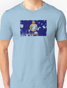 Kansas Splatter Unisex T-Shirt
