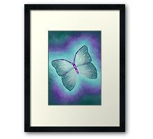Forest Butterfly Framed Print