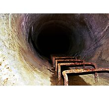 Murky Rust Tunnel Photographic Print