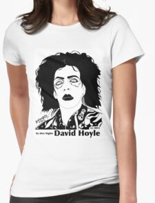 DAVID HOYLE Womens Fitted T-Shirt