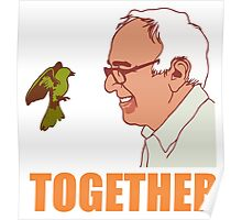 Bernie Sanders Together Poster