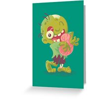 Zombie Hugs Greeting Card