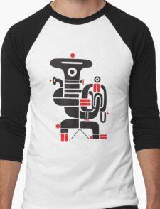 Tubaman Men's Baseball ¾ T-Shirt