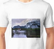 Houseboat Under the Chief Unisex T-Shirt