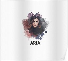 Aria - Pretty Little Liars Poster