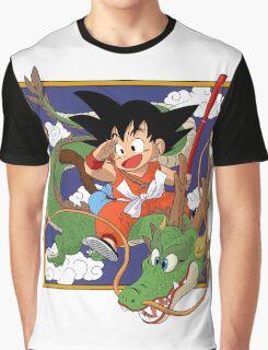 Goku And Shenron Graphic T-Shirt