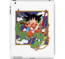 Goku And Shenron iPad Case/Skin