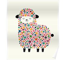Bubble Sheep Poster