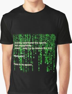 The Matrix: There is no spoon Graphic T-Shirt