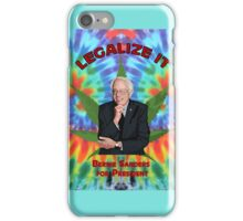 Bernie Sanders Marijuana iPhone Case/Skin
