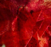 Flaming flower Sticker