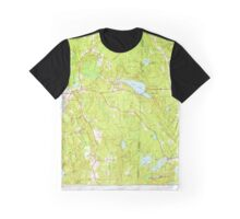 USGS TOPO Map Connecticut CT Voluntown 461151 1953 24000 Graphic T-Shirt