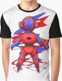 Deoxys Alien Pokemon Graphic T-Shirt