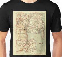 USGS TOPO Map Rhode Island RI East Greenwich 353413 1944 31680 Unisex T-Shirt