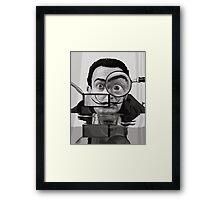 I AM DRUGS 1950 Framed Print