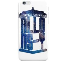 Allons-Y Galaxy Tardis (Tenth Doctor) iPhone Case/Skin