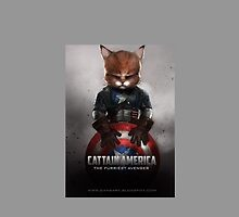 Cattain America by Manolya Jay