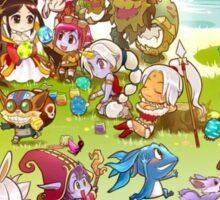 League of Legends chibi kawaii lol Sticker
