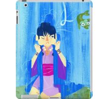The glamorous life of a spirit medium a la Maya Fey.  iPad Case/Skin