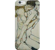 Egon Shiele - Friendship iPhone Case/Skin