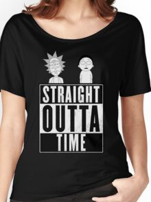 Straight outta Time - Rick & Morty Women's Relaxed Fit T-Shirt