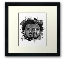 Cole and Kendrick gray Framed Print