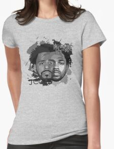 Cole and Kendrick gray Womens Fitted T-Shirt