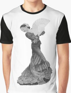 Flamenco Dancer Graphic T-Shirt