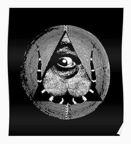 dali's all-dreaming eye Poster
