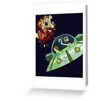 Oricktional Rebel Greeting Card