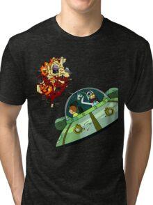 Oricktional Rebel Tri-blend T-Shirt