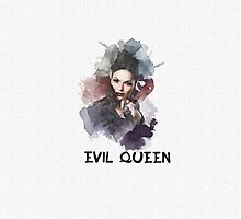 Evil Queen/Regina  - OUAT - Canvas Photographic Print