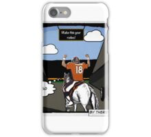 Manning's Last Rodeo iPhone Case/Skin